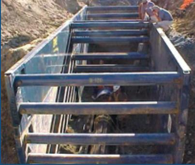 4M Series Trench System | GME Trench Shields