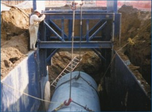 Trench shoring height adapters | GME