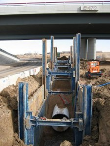 Slide Rail Shoring System | GME Trench Shields & Equipment Safety Products
