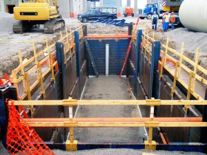 Guard Rails - for construction safety from GME Shields