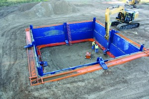 Hybrid Clearspan System - GME Trench Shielding & Trench Shoring