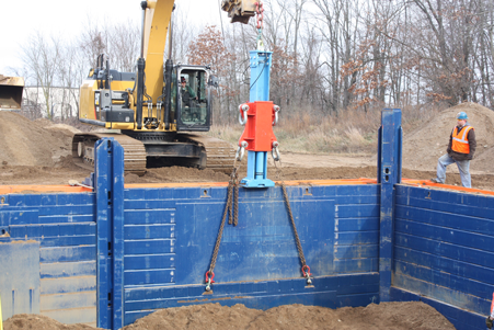 Panel Puller Panel Extractor Gme Shields Trenching