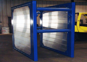 steel wrapped Aluminum Trench shields