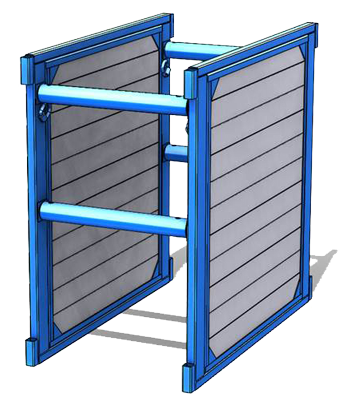 Steel Wrapped Aluminum Trench Box
