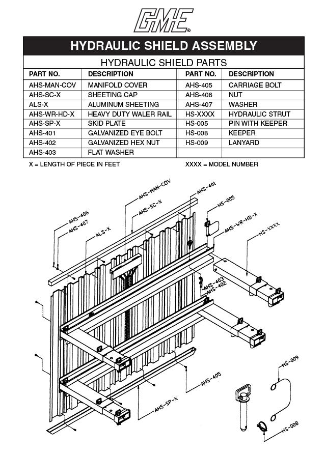 hydraulic shield parts drawing  pdf