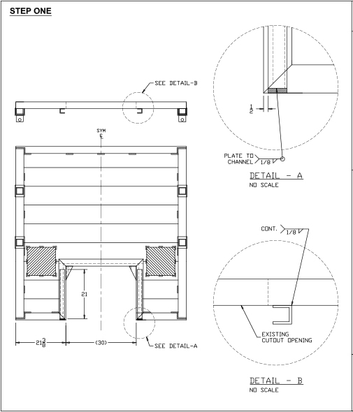 Aluminum Door Assembly